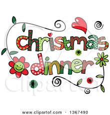 christmas menu clipart clipground