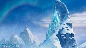snow mountains disney frozen castle winter ice wallpapers wallpaper
