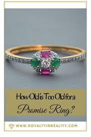 promise rings for meaning how is for a promise ring royalty in reality