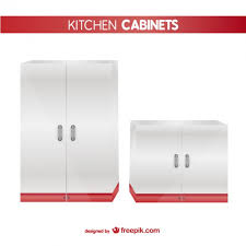 kitchen cabinets vector free download