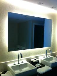 vanity led light mirror bathroom mirror lights led behind amusing with additional home