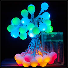 sale small led string lights aa battery operated 4m 40led