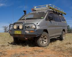 How About A Van Like The Mitsubishi Delica For Off Road Touring