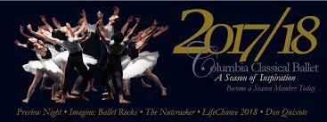 columbia classical ballet