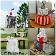 pirate party ideas diy pirate party trophy diaries