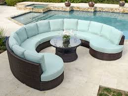 Outdoor Round Patio Table Sofa Amazing Round Outdoor Sofa Remarkable Circular Patio