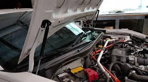 black subaru brz p2m scion fr s subaru brz black series engine hood damper