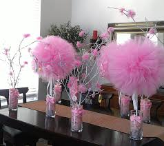 How To Make Ribbon Topiary Centerpieces by Diy Tulle Topiary Centerpiece Baby Shower Parties Weddings