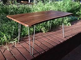 live edge table with turquoise inlay liveedge walnut coffee table with turquoise inlay boulder