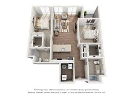 corner 2 bedroom 2 bath luxury apartment floor plan 33 west