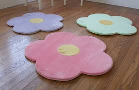 amazon com flower area rug for kids girls room girls area rugs