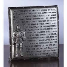 confirmation gifts for boys armor of god desk plaque the catholic company