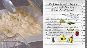 recette cuisine fr3 la brandade de morue nîmoise de recettes les carnets de