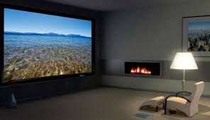 How To Hang A Projector Screen From A Drop Ceiling by Projectors Vs Tvs Giant Screen Pros And Cons Cnet