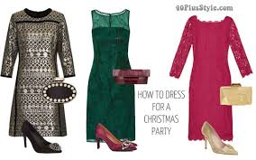 chic dress to dress for a christmas party