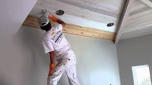 How To Whitewash Wood Walls by Pickled Ceiling Youtube