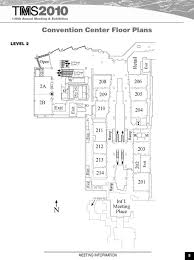 washington convention center floor plan map convhall2 jpg