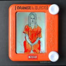 bryan etch city art orange is the new black etch a sketch