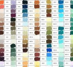 unison hand painted colour chart jackson u0027s art blog