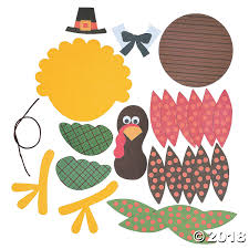 turkey craft kit makes 12