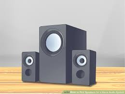 Bookshelf Speakers Wiki 3 Ways To Pick Speakers For A Home Audio System Wikihow