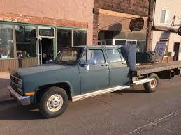 chevy 3500 1ton crew cab flat bed auto 5 7l etb 110 000 arizona