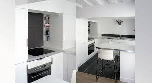charming cuisine blanche sol noir 0 cuisine blanche tr232s