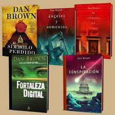 Pack Libros Dan Brown Bibliografía