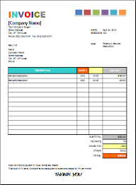 house painting invoice for excel excel invoice templates
