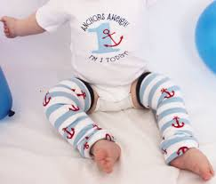 nautical baby first birthday anchors aweigh by gigglepoo