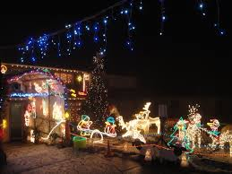 Christmas Decoration Outside Home by Dining Room Christmas Decorations House Houses Decorated For