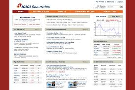 layout web portal web portal for institutional investors trading in stocks