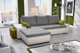 Modern Corner Sofa Bed Modern Corner Sofa Bed Senso Pik With Pouf Arthauss Furniture