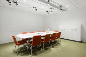 interior designs simple office meeting room with white scheme wall