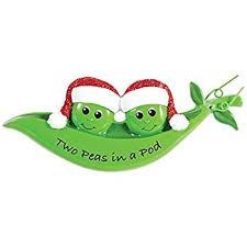 peas in a pod ornament two peas in a pod ornament home kitchen
