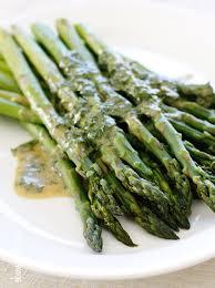 Asparagus Dishes Main Course - asparagus with dijon vinaigrette skinnytaste
