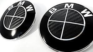 black and white bmw roundel amazon com all black carbon fiber sticker overlay vinyl for all