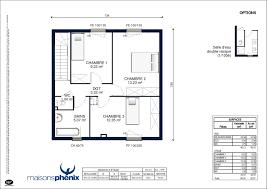 plan maison une chambre plan maison phenix plain pied 2 chambres