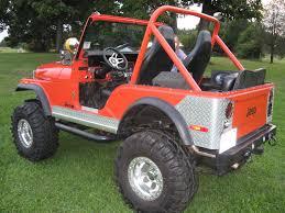 cj jeep lifted 1974 jeep cj5 for sale custom 1980 orange jeep cj5 jeep coches