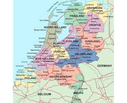 netherlands map maps of netherlands detailed map of netherlands in