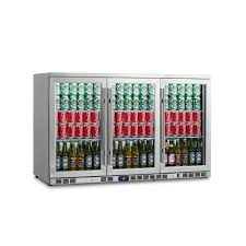 stainless steel bar fridge glass door magic chef 16 bottle 77 can dual zone wine and beverage cooler