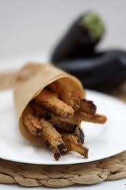cuisiner les aubergines au four frites d aubergines au four