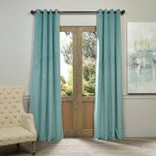 Blue Green Curtains Green Curtains Drapes Window Treatments The Home Depot