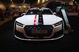 concept audi audi introduces tt clubsport turbo concept at sema quattroworld