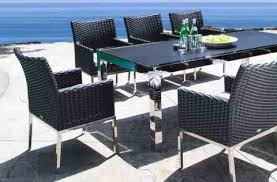 Steel Patio Table Stainless Steel Patio Furniture Shop Patio Furniture At