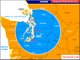 seattle map by county truck ads seattle tacoma designated market map a d m a p