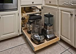 Kitchen Corner Cabinet Storage Solutions Shelfgenie Of Island Pull Out Solutions End Kitchen Clutter