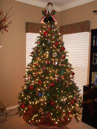 white tree with lights my grown up tree juli mize