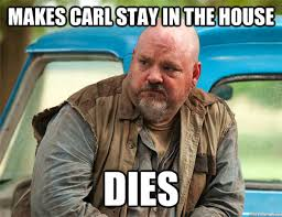Carl Walking Dead Meme - recap the walking dead s05e12 remember sourcerer