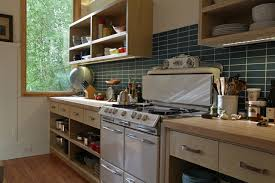 kitchen open cabinets noe street victorian remodel contemporary kitchen san